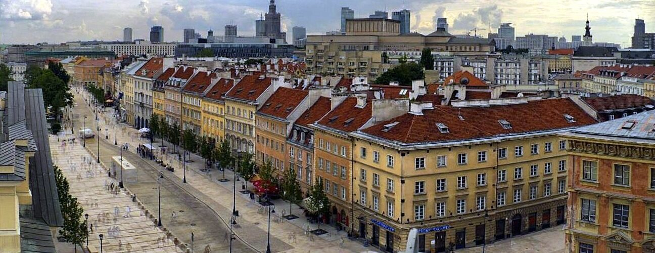 Krakow Suburbs Avenue - guided tour - sightseeing Warsaw