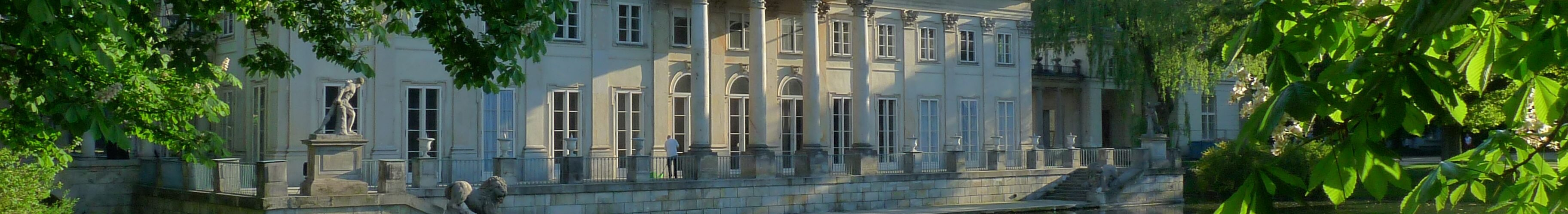 Palace on the Isle - guided tours - sightseeing Warsaw