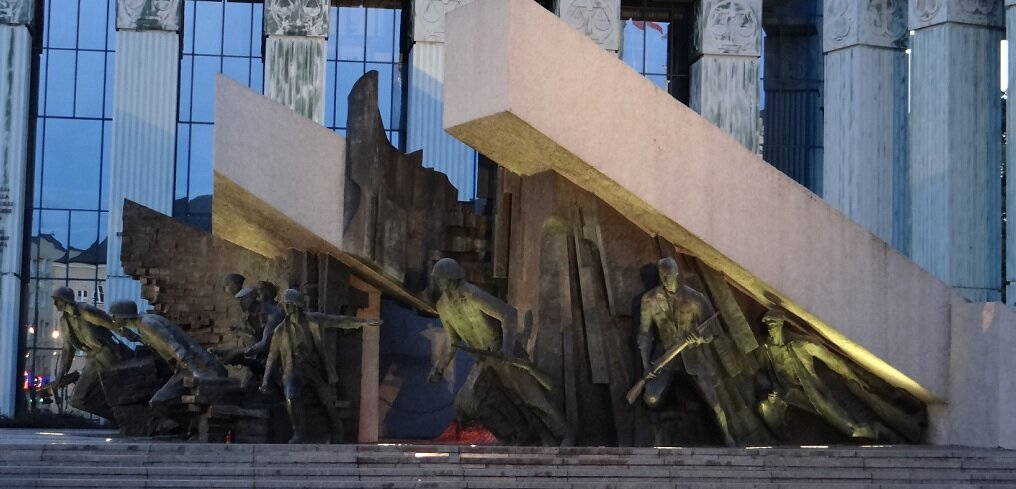 The Monumemt of Warsaw Uprising